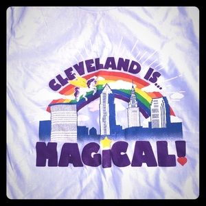 NWT XL Cleveland is magical tee shirt